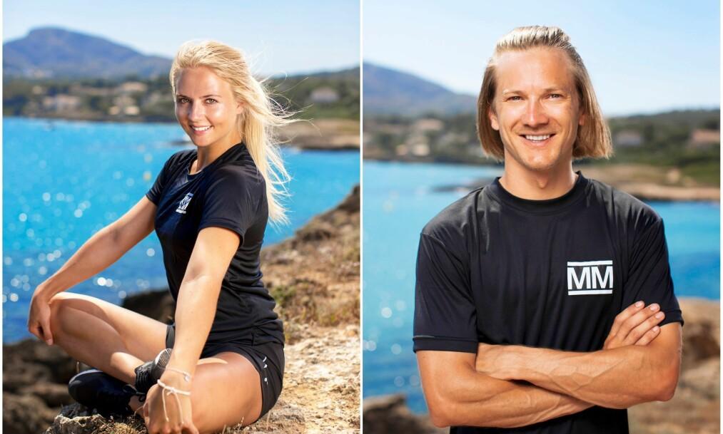 <strong>FIKK HJELP:</strong> «Mesternes mester»-profilene Kine Olsen Vedelden og Tom Hilde avslører at de fikk hjelp til å det store steget inn i parforholdet. Foto: Toke Riskjær, Rubicon TV/ NRK