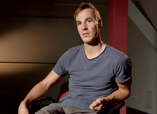 PÅ TYSKE ARD: Johannes Dürr snakker ut om tida med doping og ønsket om å komme tilbake i skisporet. Foto: ARD