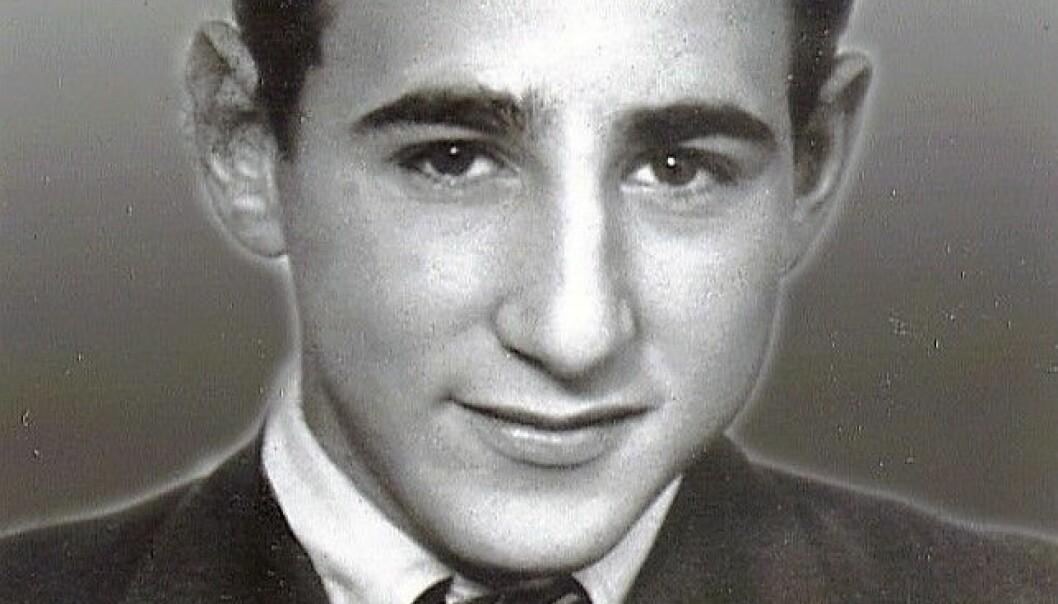 FRANK SACHNOWITZ fra Larvik var 17 år gammel, da han ble gasset ihjel i Natzweiler. Foto: Privat