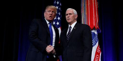 image: Sammenlikner Trump med Martin Luther King