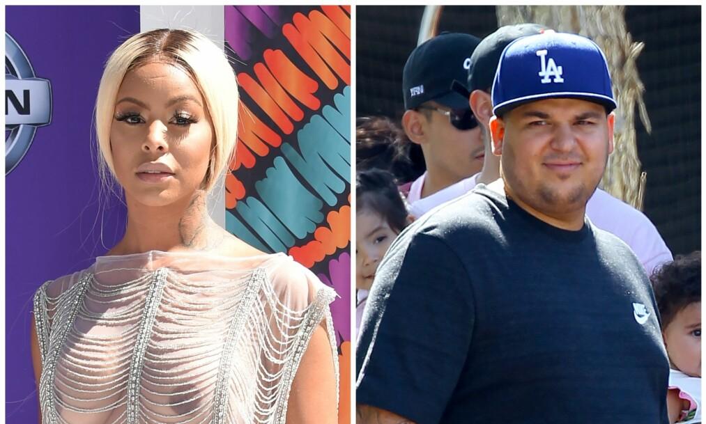 <strong>SLÅR TILBAKE:</strong> Rob Kardashians nye flamme, Alexis Skyy, så seg nødt til å svare da det ble slengt kommentarer om forholdet hennes til realitystjernen. Foto: NTB Scanpix