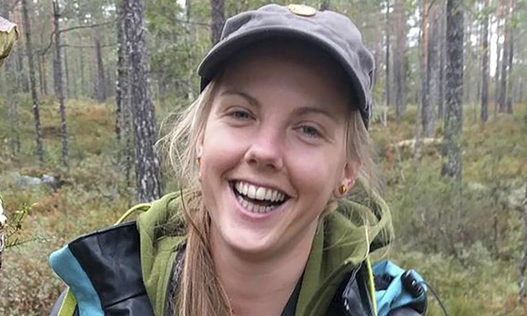 BISETTES: Maren Ueland bisettes i dag fra Time kirke på Jæren. Foto: Privat