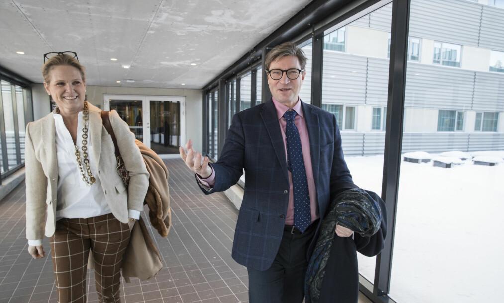 <strong>NY STATSRÅD:</strong> Ingvil Smines Tybring-Gjedde, her sammen med mannen Christian, blir ny beredskapsminister, ifølge en rekke medier. Foto: Vidar Ruud / NTB scanpix