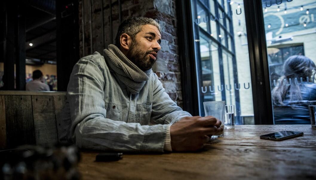 <strong>SKAPTE BRUDULJE:</strong> Etter at Dagbladet snakket med Yousef Hadaoui mandag ble det bråk da han kjørte et stunt i debattprogrammet Dagsnytt 18. Foto: Christian Roth Christensen