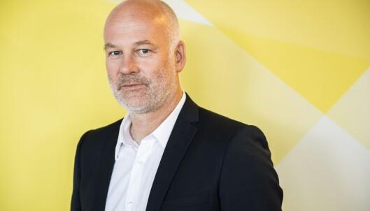 TAR SAKEN MED HUMØR: Kringkastingssjef Thor Gjermund Eriksen har ikke sett innslaget, men tar turbulensen med humør. Foto: Endre Vellene / Dagbladet
