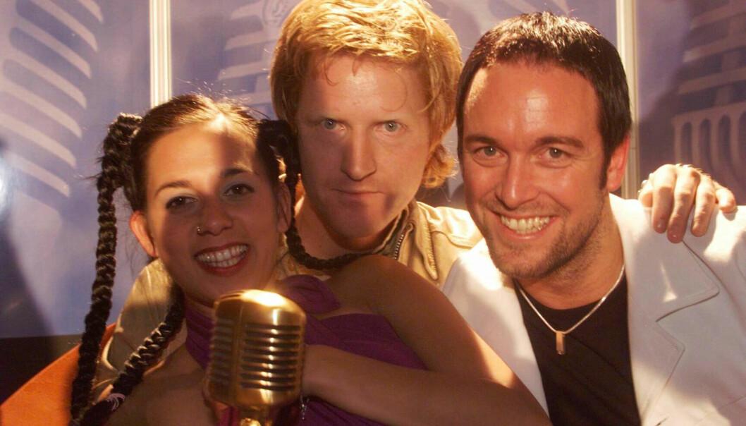 DEN GANG DA: Da musikkprisen HitAwards ble utdelt i Oslo Spektrum i 1999, ble D'sound kåret til årets norske gruppe. Foto: NTB Scanpix