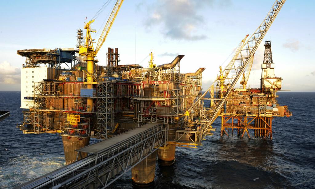 FUNNET NOK: Vi skal lete etter enda mer olje og gass, enda vi har funnet mye mer enn kloden tåler, og derfor må trappe ned snarest, skriver innsenderen. Bilde fra Oseberg feltsenter. Foto: Marit Hommedal / NTB Scanpix