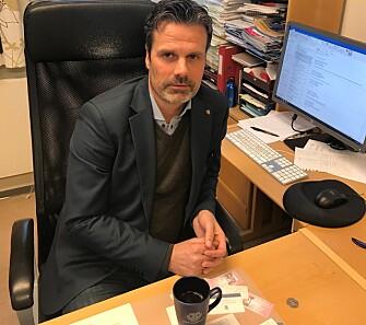 ENGASJERT: Fredrik Støtvig i Norsk Tollerforbund representerer 85 prosent av de ansatte i Tolletaten.