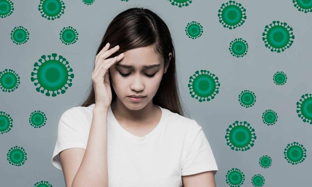 HVORDAN UNNGÅ SMITTE AV OMGANGSSYKE? Omgangssyke overføres lett fra person til person og virus kan leve utenfor kroppen lenge. Foto: NTB Scanpix/Shutterstock