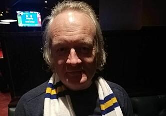 SAMMENLIGNER LEEDS MED LEICESTER: Rune Glomstein synes Leeds minner om Leicester som gjorde en kanonsesong i Premier League med små ressurser. Foto: Sondre Tallaksrud.