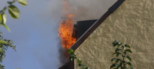 Kraftig økning i boligbranner i fjor