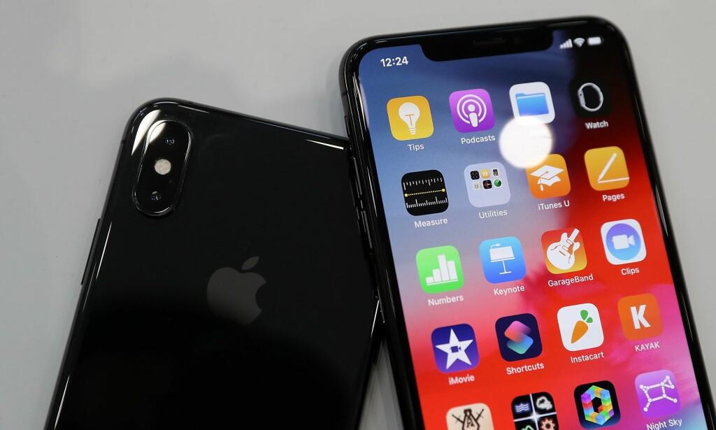 OPPDATÉR NÅ: Apple har tatt en feilrettingssjau på alle dingsene sine, og er nå klare med ny versjon av blant annet iOS. Foto: Justin Sullivan/AFP/NTB Scanpix