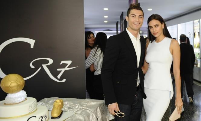 INGEN DRØMMEMANN: Den russiske skjønnheten har tidligere fortalt at ekskjæresten, Christiano Ronaldo, fikk henne til å føle seg både stygg og usikker. Foto: NTB scanpix