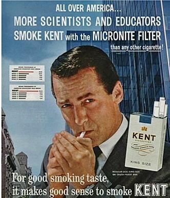 Både forskere og lærere røyker. Da burde du også, eller?