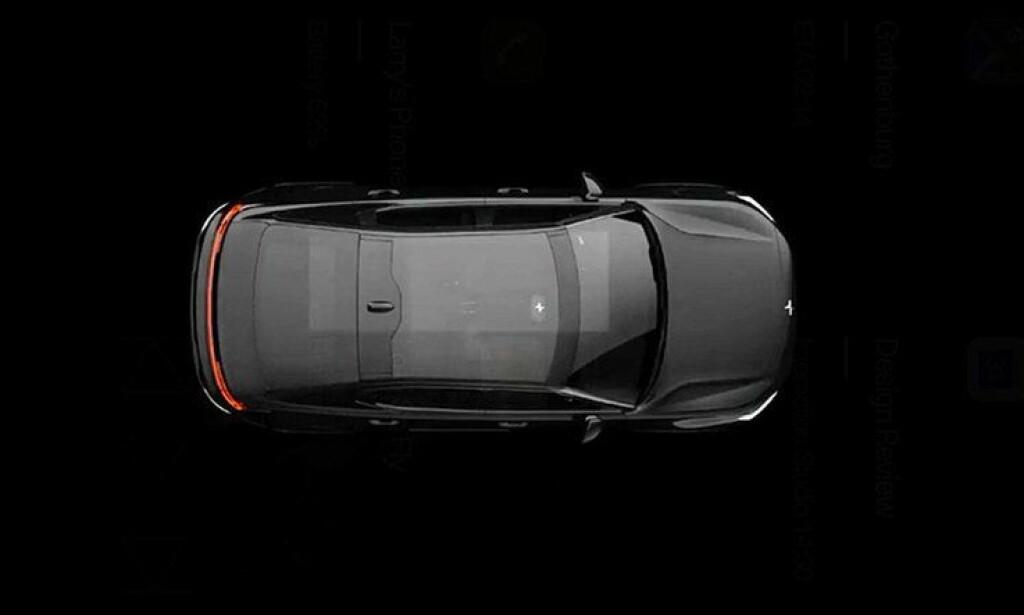 FIREDØRS SEDAN: Bilen har fire dører og er formet som en sedan. Foto: Polestar