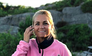 Cecilie Lyngby i Bomfritt Norge. Foto: Privat