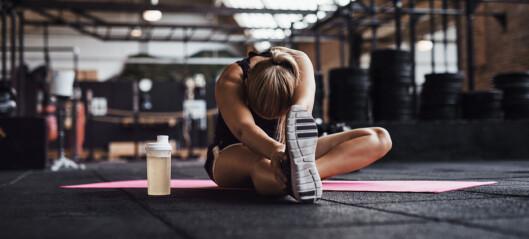 Ny studie slår fast at tøying har effekt