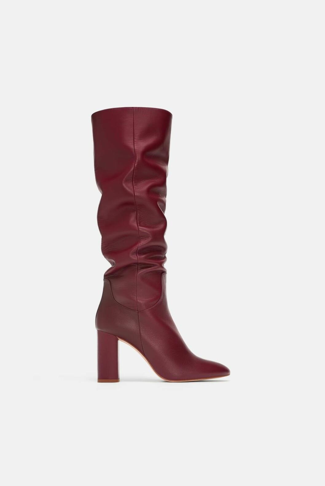 <strong>Støvletter fra Zara |500,-| https:</strong>//www.zara.com/no/no/h%C3%B8yh%C3%A6lt-skinnst%C3%B8vel-p16015301.html?v1=8739122&v2=1177663