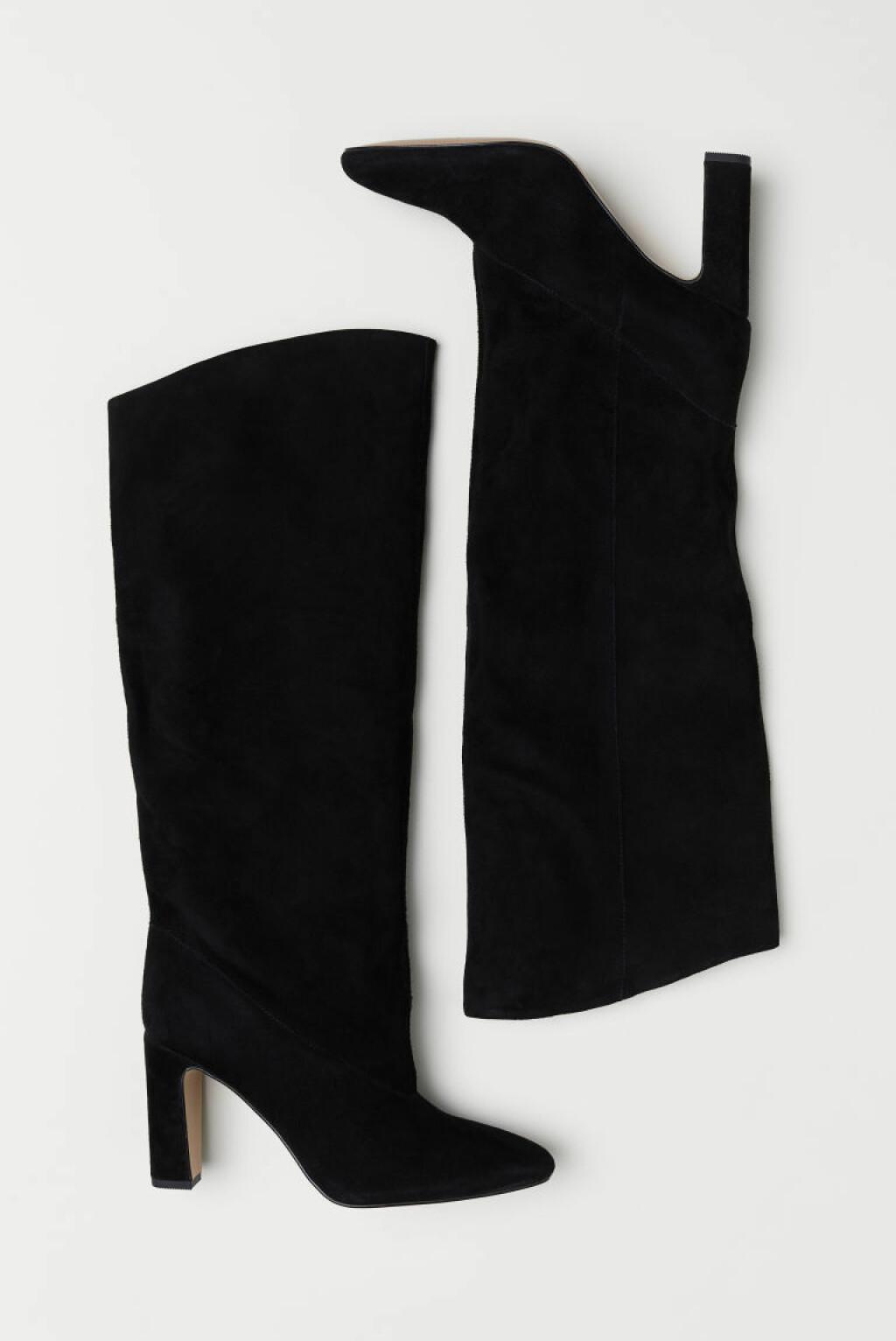 Boots i semsket skinn fra H&M |800,-