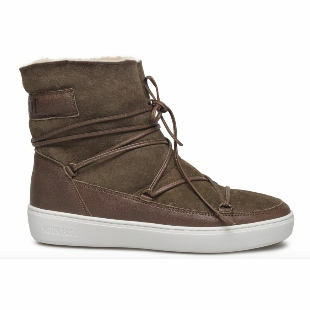 <strong>Moon Boots |1900,-| https:</strong>//www.miinto.no/p-875096-gronn-moonboots-puls-low-shearling-sko