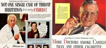 Se reklamene: Disse legene skulle få folk til å røyke mer