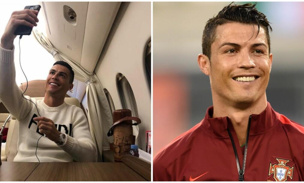 FANSEN RASER MOT FOTBALLSTJERNEN: Kritikken mot Cristiano Ronaldo lar ikke vente på seg, etter fotballstjernens selfie. Foto: Skjermdump fra Instagram /NTB scanpix