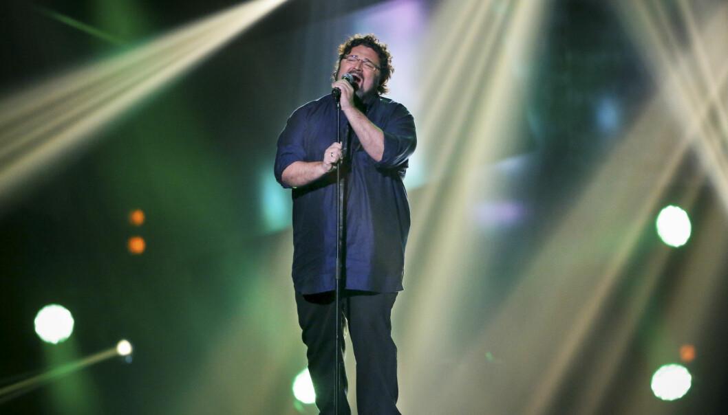 TILBAKE PÅ SCENEN: I 2013 var Hans-Erik Dyvik Husby blant deltakerne i Melodi Grand Prix med sangen «No One». Nå gjør han comeback! Foto: NTB Scanpix