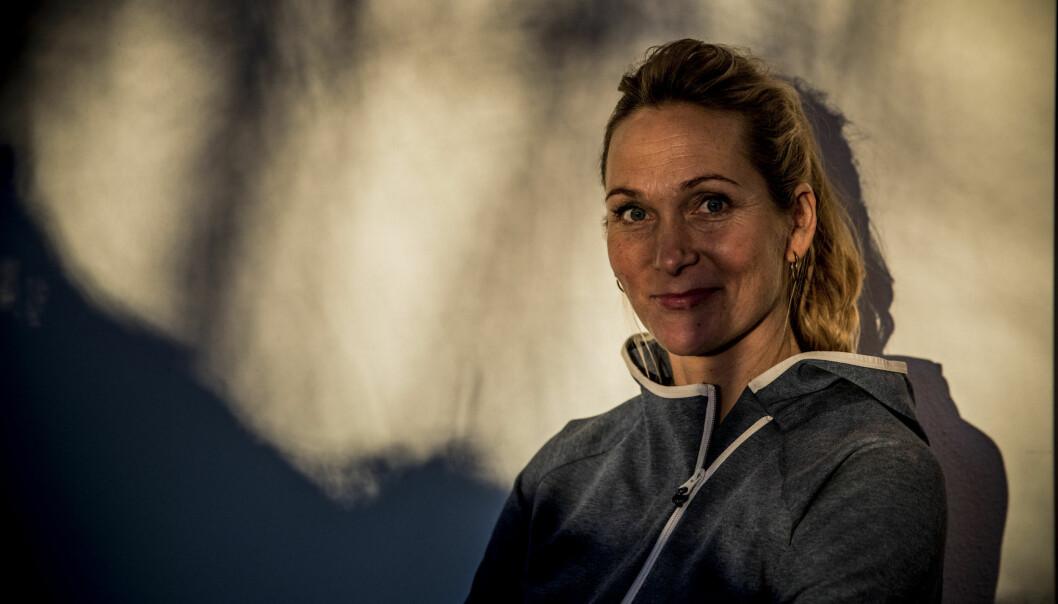 LIVET FALT PÅ PLASS: Karina Hollekim har omfavnet A4-livet med familien, og kunne ikke sett for seg en annen tilværelse. Foto: Christian Roth Christensen / Dagbladet