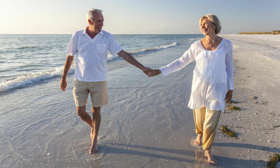 STOPPER IDYLLEN: Mange drømmer om en pensjonisttilværelse fylt av reiser og opplevelser. Da må du passe deg for denne fella. Foto: Shutterstock / NTB scanpix
