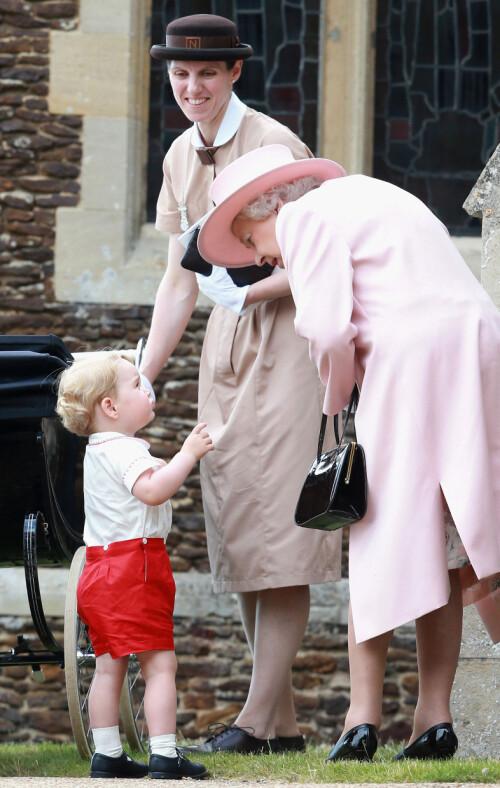 <strong>NANNY:</strong> Prins William og hertuginne Kate ansatte etterhvert barnepike Maria Borrallo. Foto: NTB Scanpix