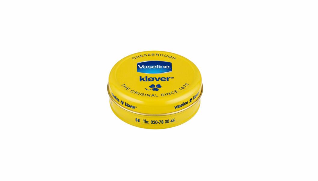 Vaslin kan kjøpes i de fleste dagligvarebutikker til under 50-lappen.