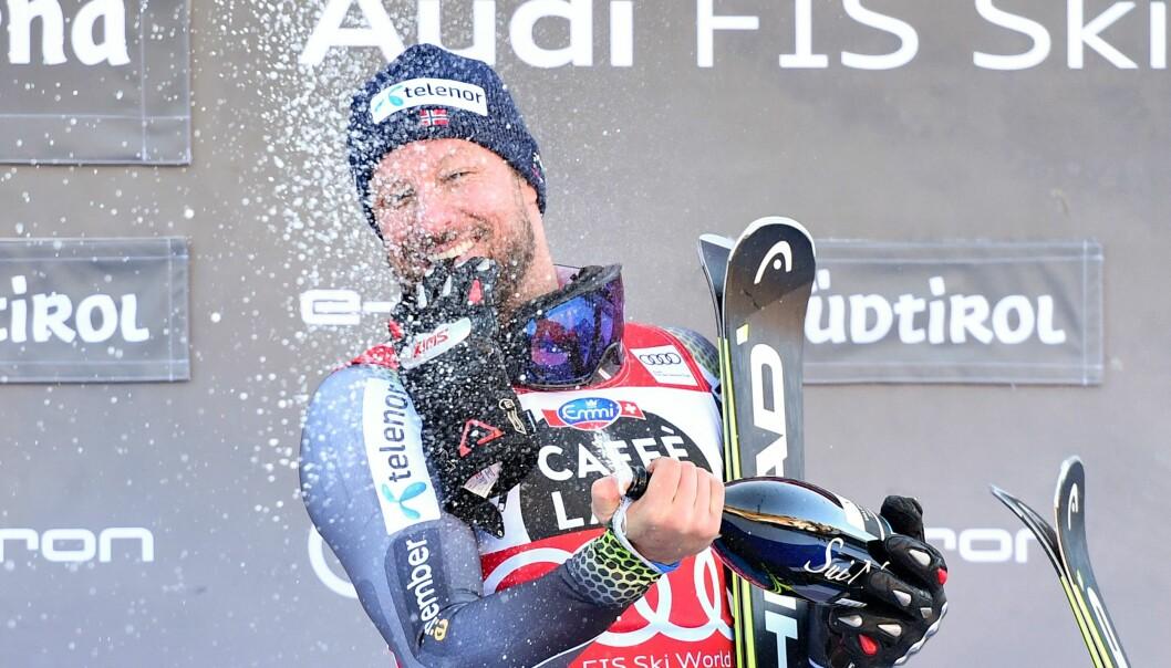 IMPONERER: Når Aksel legger skiene på hylla etter VM i Åre, kan han se tilbake på en imponerende alpinkarriere. Foto: NTB Scanpix