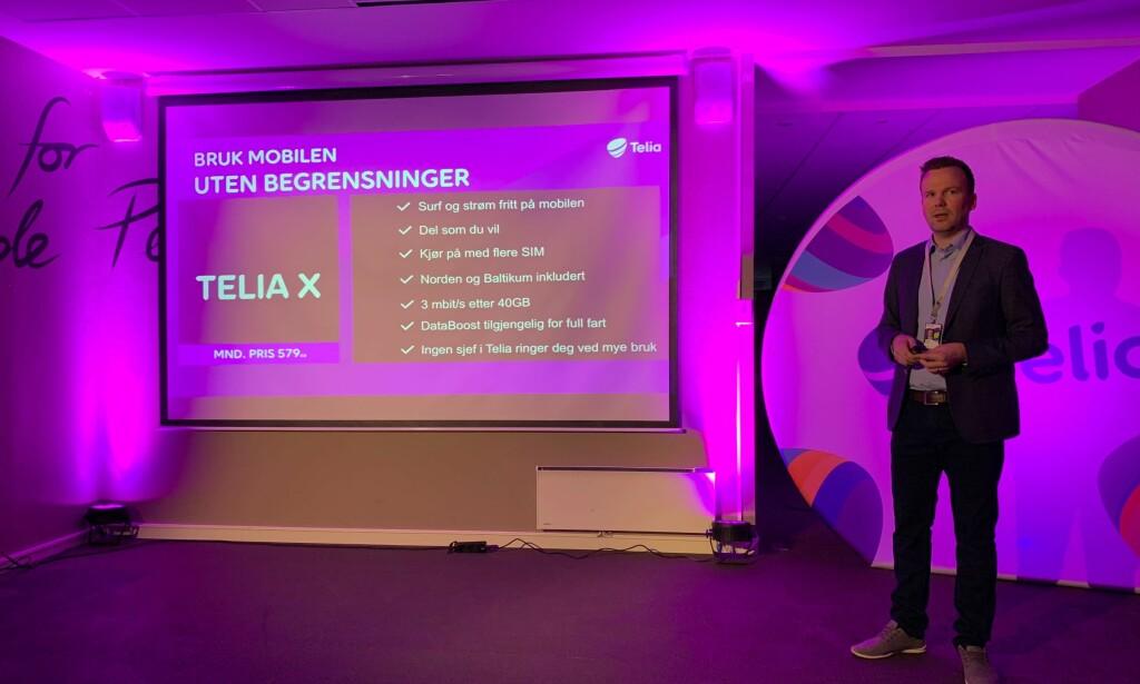 TELIA X: Dette får du med Telias nye abonnement. Foto: Martin Kynningsrud Størbu
