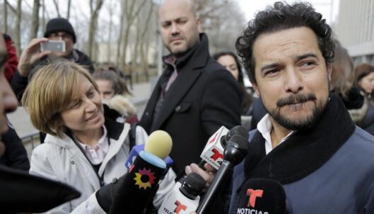 TV-stjerne dukket opp under rettssaken mot «El Chapo»