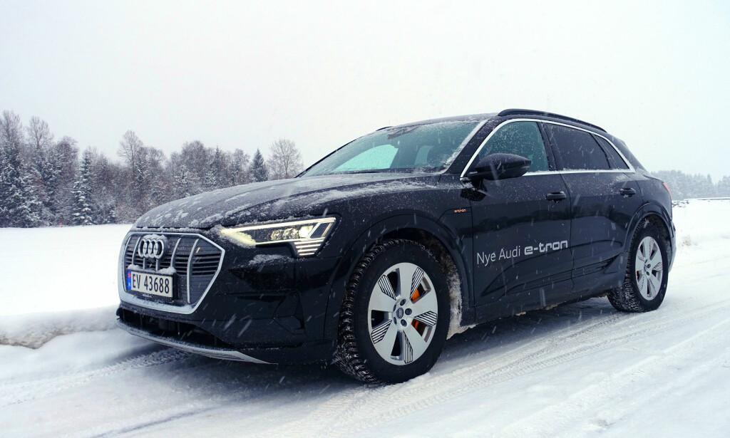 PERFEKT: Slikt vær passer bilen faktisk perfekt. Foto: Fred Magne Skillebæk