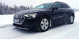 image: Vintertest av Audi e-tron: Så langt kom vi