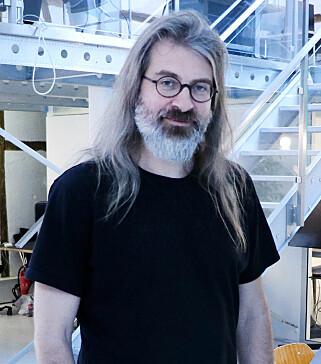 CTO Simen Svale Skogsrud i Sanity mener de er ganske alene om CMS-løsningen deres. 📸: Ole Petter Baugerød Stokke
