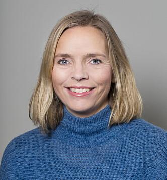 OVERRASKENDE FUNN: Forsker Carolina Øverlien forteller at mange unge jenter ikke vet at de har rett til å si nei til sex i en relasjon. FOTO: NKVTS