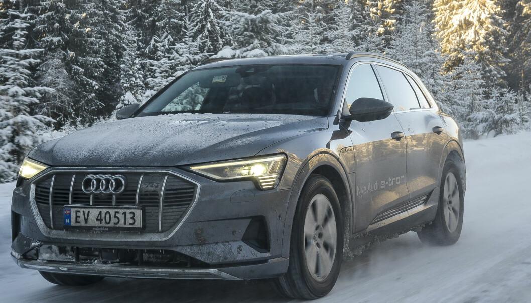 Derfor gir vi elbilen til Audi terningkast seks!