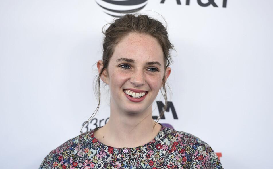 LYS FREMTID I FILMBRANSJEN: Denne flotte 20-åringen går i sine verdenskjente foreldres fotspor; hun er nemlig skuespiller. FOTO: NTB Scanpix