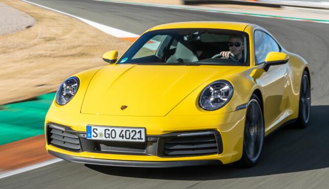 MANGE VARIANTER: 911 kommer i en rekke varianter. Carrera 4S var tilgjengelig fra starten. Turbo er foreløpig siste ut. Foto: Porsche