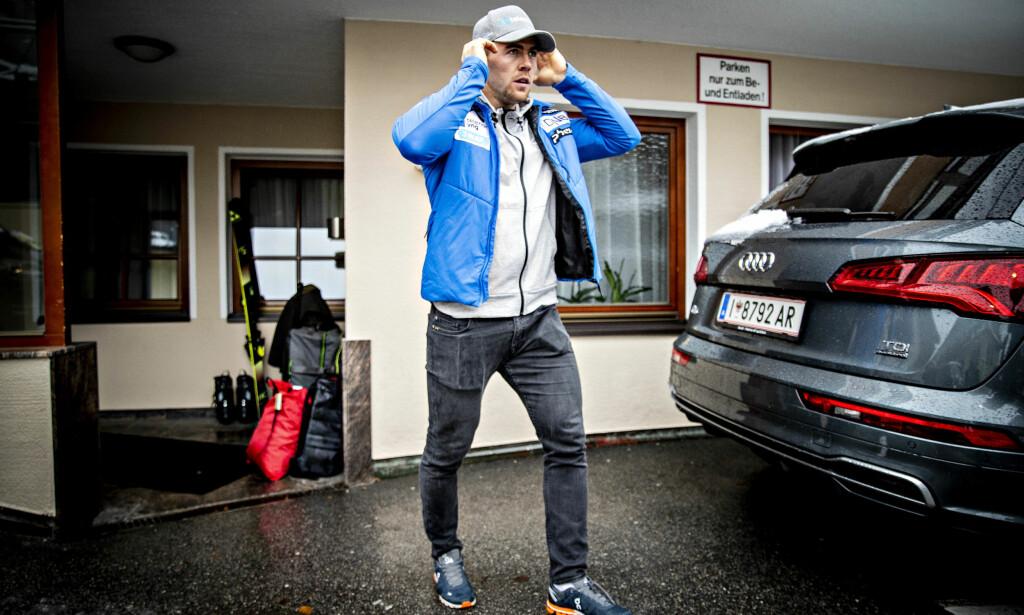 GULLHÅPET: Denne sesongen er det Aleksander Aamodt Kilde som har prestert best av de norske alpinstjernene. Det gjør ham til favoritten når VM i Åre starter neste uke. Foto: Bjørn Langsem/Dagbladet