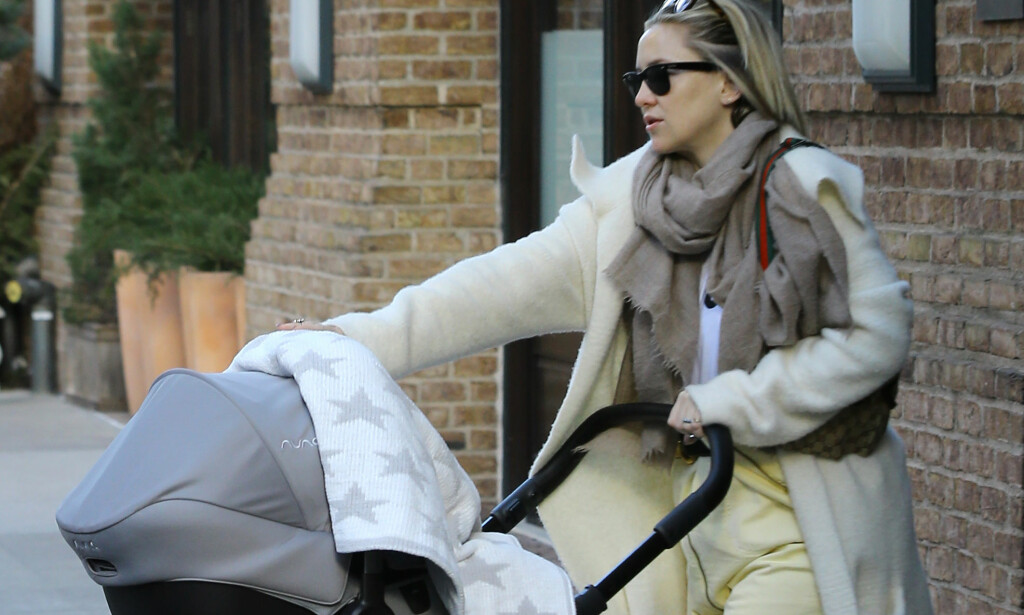 FORSVARER SEG SELV: Kate Hudson har sett seg nødt til å forklare hva hun mente i et nylig intervju. Foto: Splash News/ NTB Scanpix