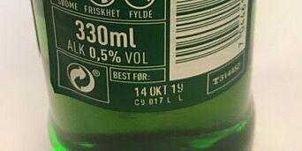 image: Ringnes beklager: Feilmerket flasker med alkoholfritt øl