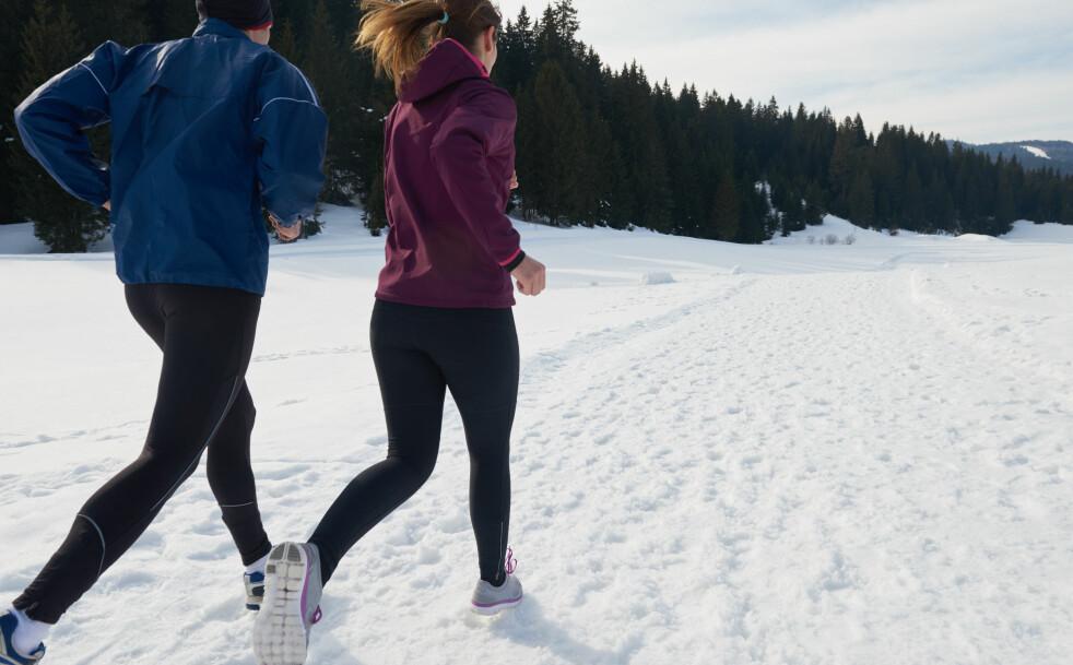 <strong>EFFEKTIV TRENING:</strong> Å løpe kan gi effekt etter bare noen minutter. FOTO: NTB Scanpix