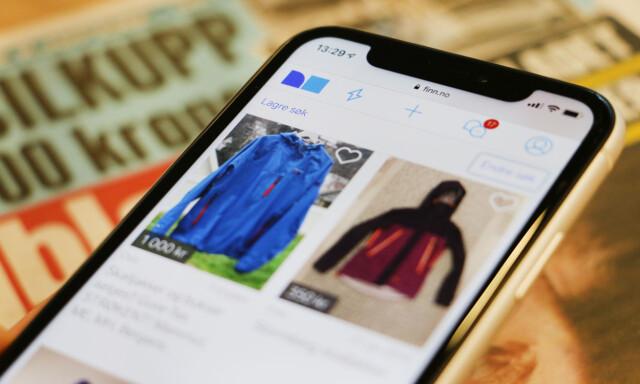 d6bcc0be NY JAKKE VAR BRUKT: Informasjonen om brukte klær som selges privat, skal  være riktig