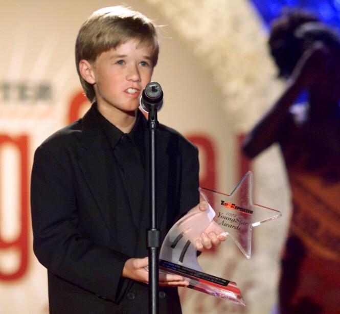 <strong>SØTNOS:</strong> Haley Joel Osment ble verdensstjerne i veldig ung alder. Foto: NTB Scanpix