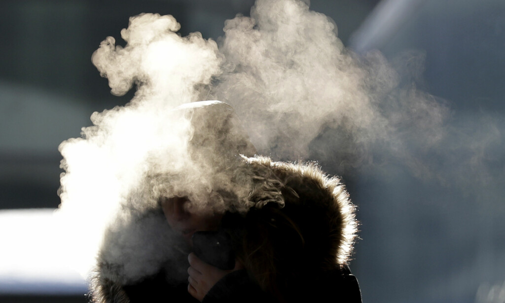 SPRENGKULDE: Den siste uka har amerikanerne måtte takle ned mot 44 minusgrader. Foto: AP Photo / Nam Y. Huh