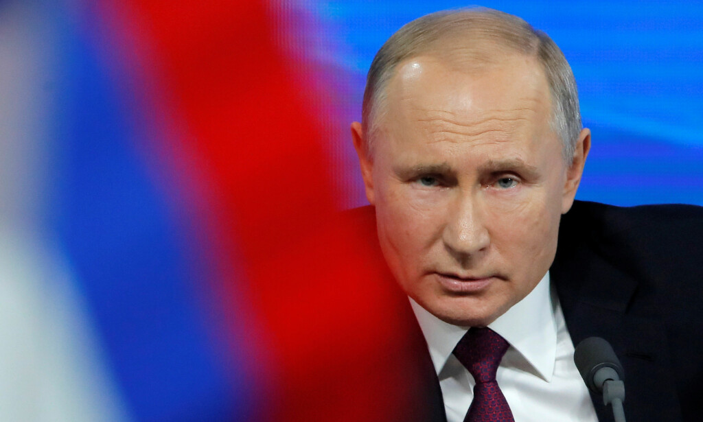 «DOMMEDAGSVÅPEN»: Tidligere forsvarssjef Harald Sunde tror Russlands president Vladimir Putin bløffer om sine «dommedagsvåpen». Foto: Maxim Shemetov  / Reuters / NTB Scanpix