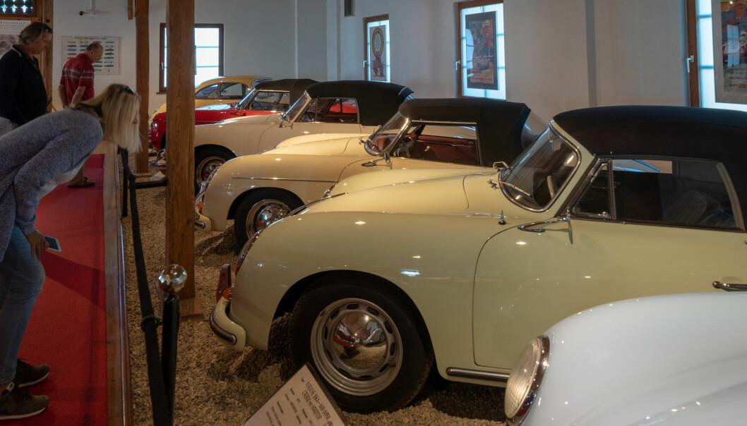 <strong>IKON:</strong> I 1948 kom de første bilene med Porsches familienavn på panseret. Foto: Paal Kvamme